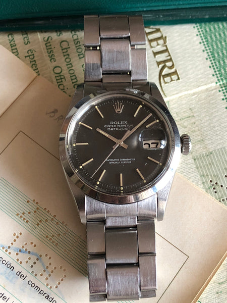 Rolex - 1977 Datejust Ref. 1600 smooth bezel