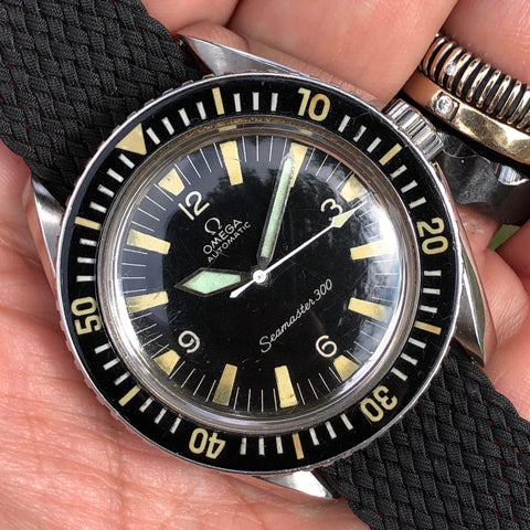 Omega - Seamaster 300 Ref. 165.024 from the 1960s