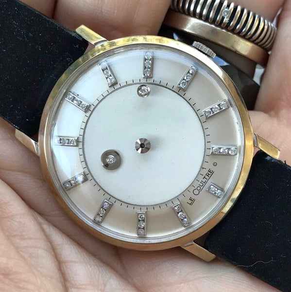Le Coultre - Vacheron Constantin 14kt white gold Galaxy mistery dial