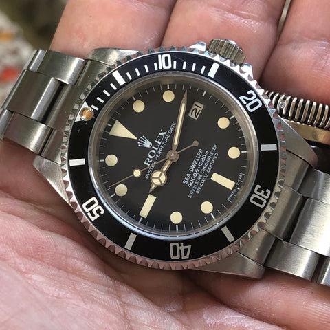 Rolex - Sea Dweller Ref.16660 Triple Six Mark I Full Set