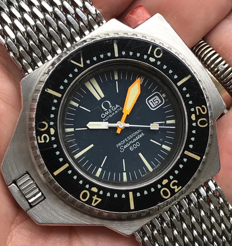 Omega - Seamaster 600 Ploprof ref.166.077 professional Diver Mark II 1970's