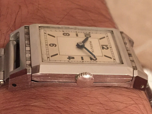 Marvin - Cabrio 40s original two tone dial like NOS