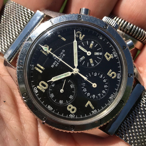 "Breitling - AVI Ref. 765 ""all black"" 1959-1960"