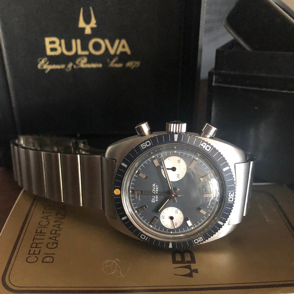 Bulova - 1970s Deep Sea 666 feet Full Set