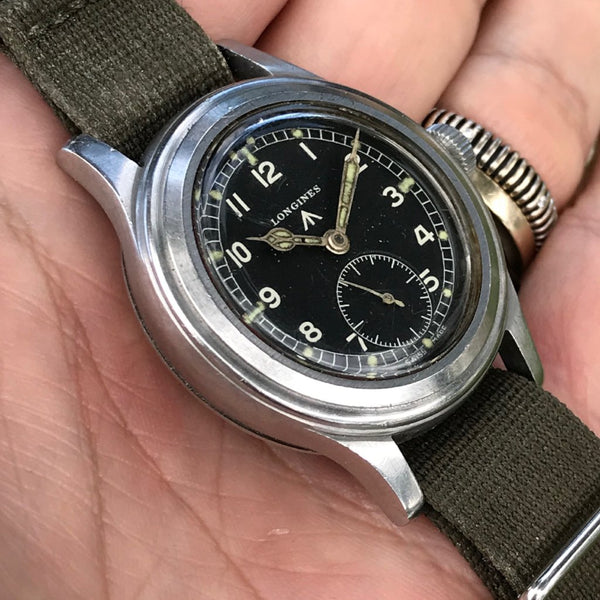 "Longines - WWW Dirty Dozen military British Army ""Greenlander"""