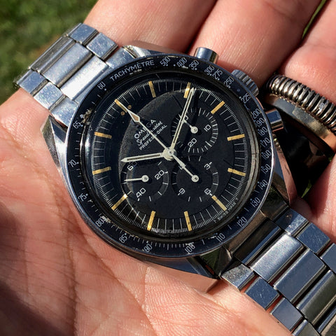 Omega - Speedmaster Ref. 105.012-66 cb case flat twisted lugs