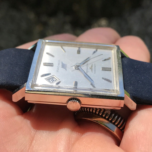 Longines - Conquest Date  oversize square case