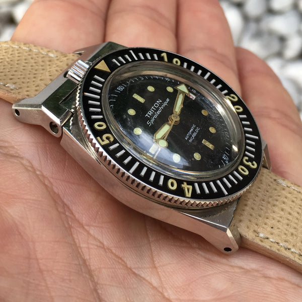 Triton - Spirotechnique the Jacque Cousteau Watch early 60s