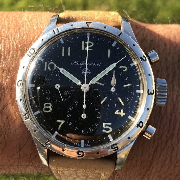 Mathey-Tissot - Type 20 Stainless Steel Flyback Chronograph