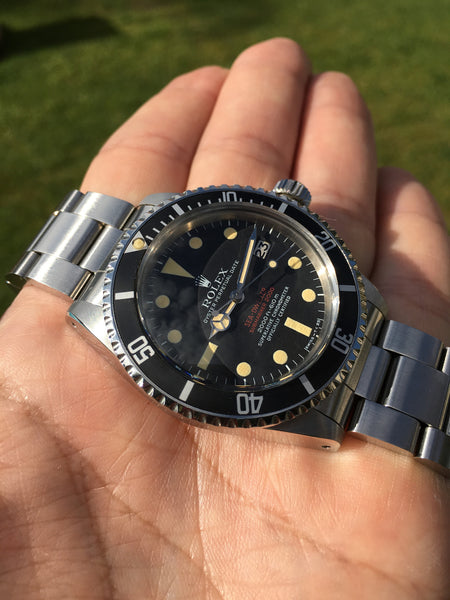 Rolex - Ref. 1665 NOS Sea-Dweller double red line sold in Japan FULL SET