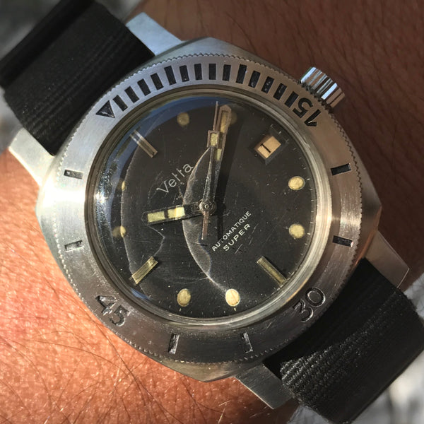 "Vetta - Waterproof Mini Panerai 1000 mt model ""super"" from 60s"