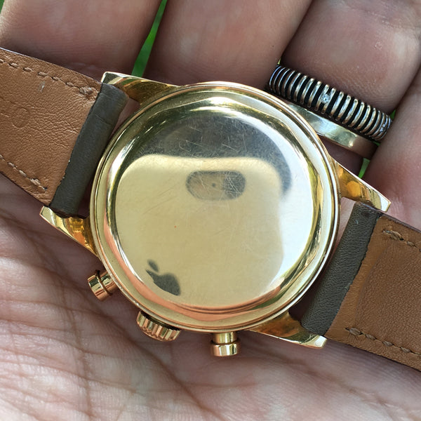 Movado - 18kt rose gold M95 modular movement 50s
