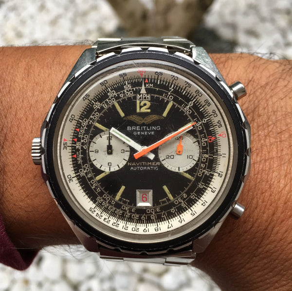 Breitling - Navitimer Ref. 1806 Iraqi Airforces issued 70's