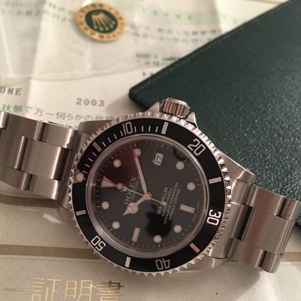 Rolex - Sea-Dweller 1220m 2003 steel