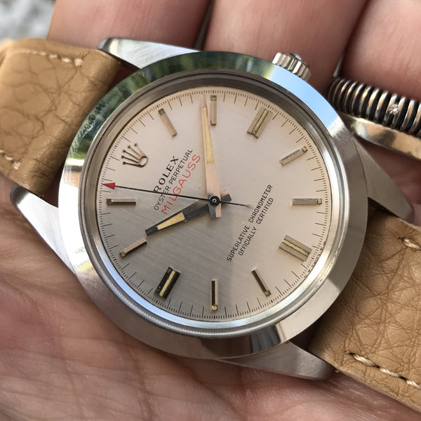 Rolex - Milgauss Ref. 1019 Mark 1 small logo from 1964