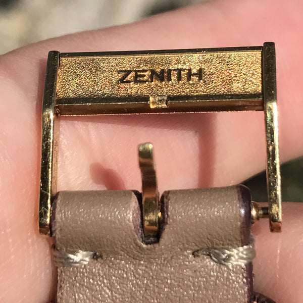 Zenith - Chrono 18kt Caliber 146DP manual from 50s