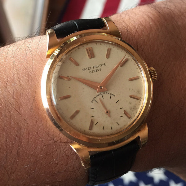 Patek Philippe - Ref. 1491 for Welsh Lima with Extract of Archives