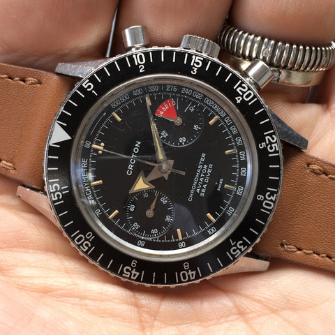 Croton - Aviator Chronomaster broad arrow 60s