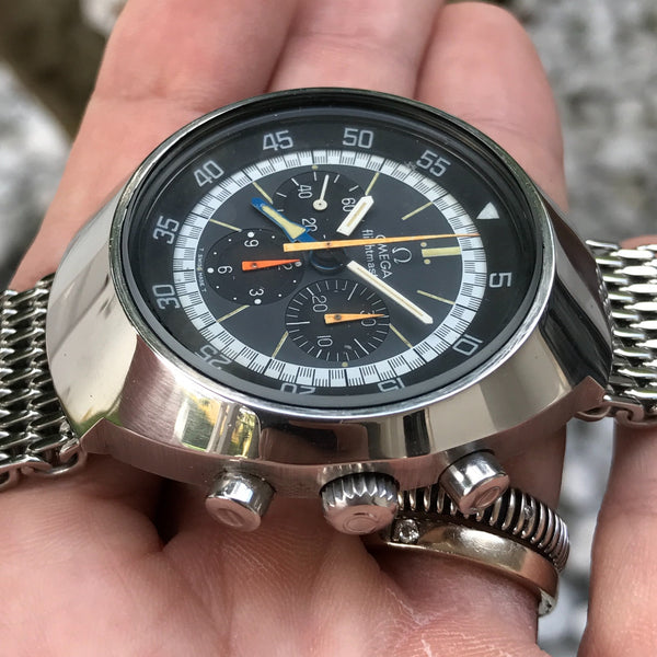 Omega - Flightmaster Ref. 145.036 chronograph Military Czech issued with extract of archives 70s