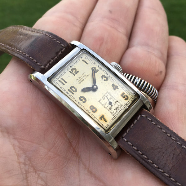 Axod - Impermeable Rectangular Steel case 1940 Sub. Sec.