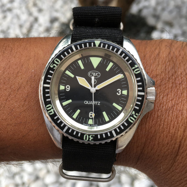 CWC - Quartz Diver Royal British Navy watch 1983