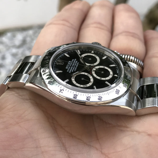 Rolex - Daytona Ref. 16520 last Zenith box and paper 1999