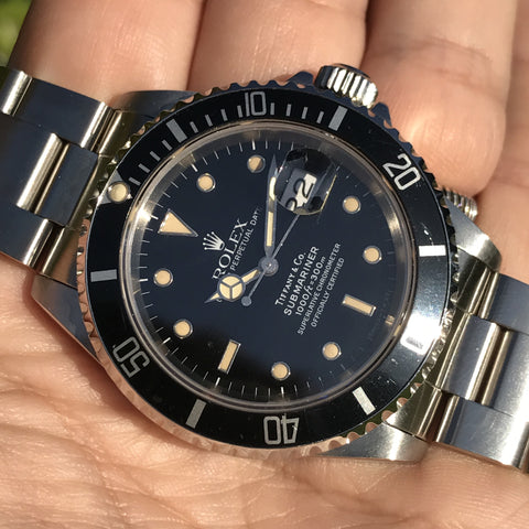 Rolex - Submariner Tiffany & Co. Ref. 16610