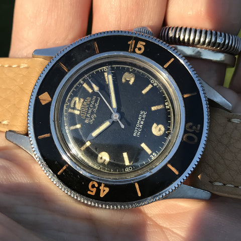 "Blancpain - Fifty Fathoms ""Ultramar"" dial with 3-6-9 indices"