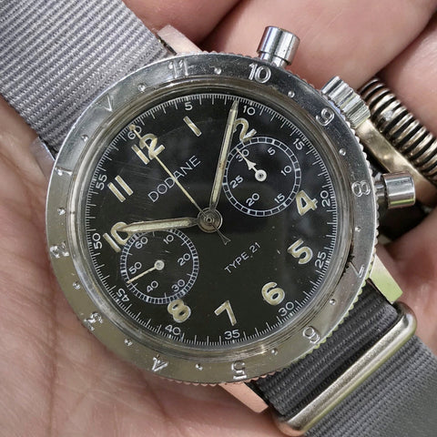 Dodane - Type XXI French airforce 1970's Chronograph