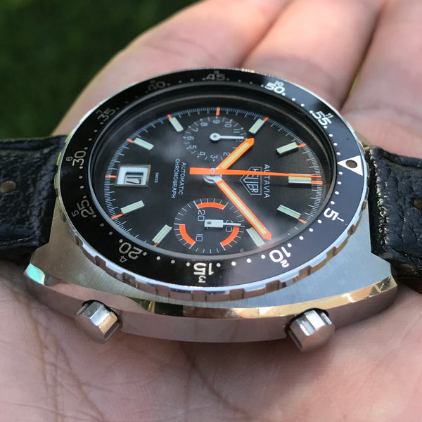 "Heuer - Autavia Automatic Ref. 11630MH Calibro 12 ""Orange Boy"""