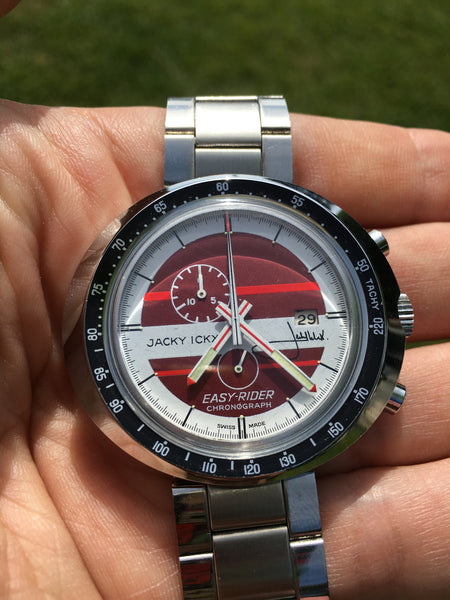 Leonidas - Easy Rider Heuer Jacky Ickx red dial