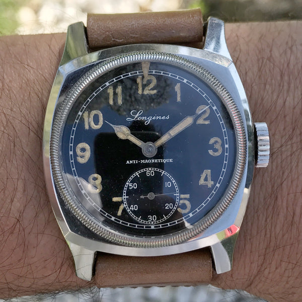 "Longines - Czech Military issued Longines ""Tartarugone"""