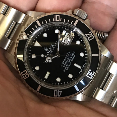 Rolex - Submariner Ref. 16610 M series 2008 Full Set