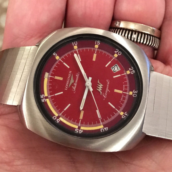 Longines - Conquest Red Ferrari dial Oversize