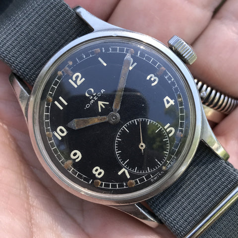 "Omega - WWW British Army issued ""Dirty Dozen"" from 40s"