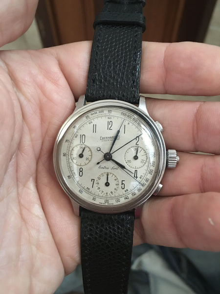 Eberhard - Steel Chronograph split second