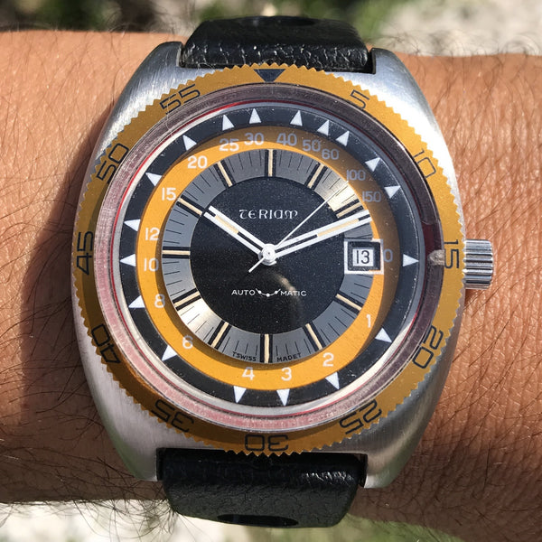 Teriam - Deep Gauge Divers bubble depth meter Eta 2632