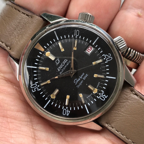 Enicar - Sherpa Super Dive Polish Navy issued circa 1970's