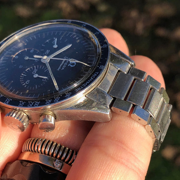 "Omega - Speedmaster Ref. 105.003-64 ""Ed White"" tropical dial"