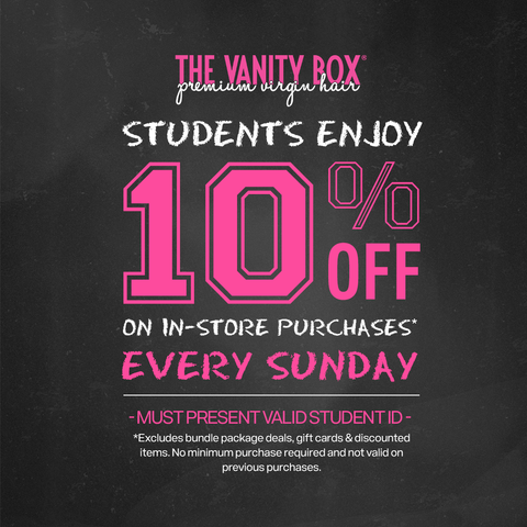 in store offers the vanity box