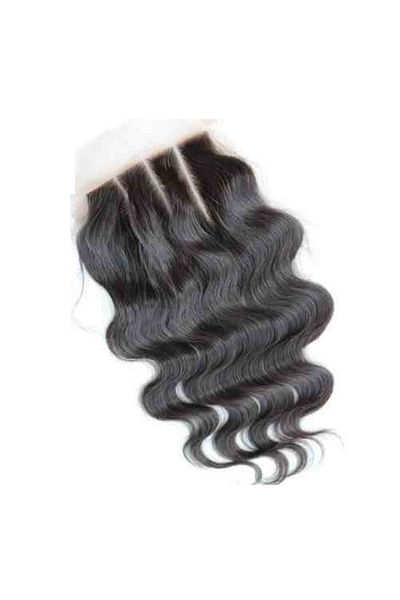 Brazilian Wavy Three Part Lace Closure