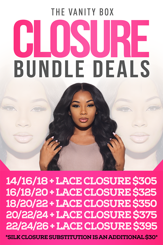 Closure + Bundle Package Deals