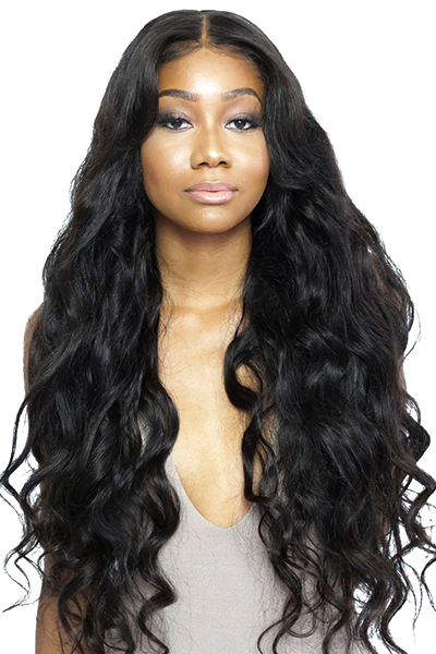 Human Hair Lace Wigs Hair Extensions & Wigs Luxe Diva 360 Lace Frontal Wig Pre Plucked With Baby Hair Peruvian Remy Deep Wave Lace Front Human Hair Long Wigs For Women