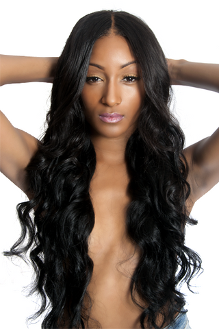 Brazilian Wavy (Silk Closure)