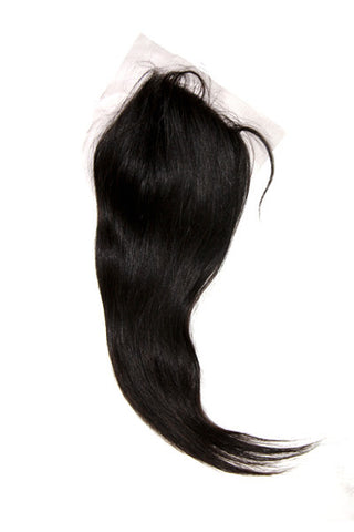 Brazilian Straight (Lace Closure)
