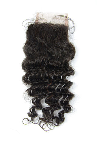 Malaysian Curly Lace Closure
