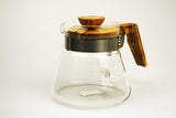 Hario v60 Olive Wood Server 600ml 2 Cup