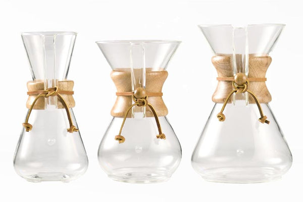 Chemex Classic Coffee Maker 3,6+10 Cup | Civilised Addict