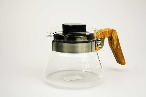 Hario V60 Olive Wood Server | Civilised Addict