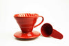 Hario v60 Ceramic Dripper Red | Civilised Addict